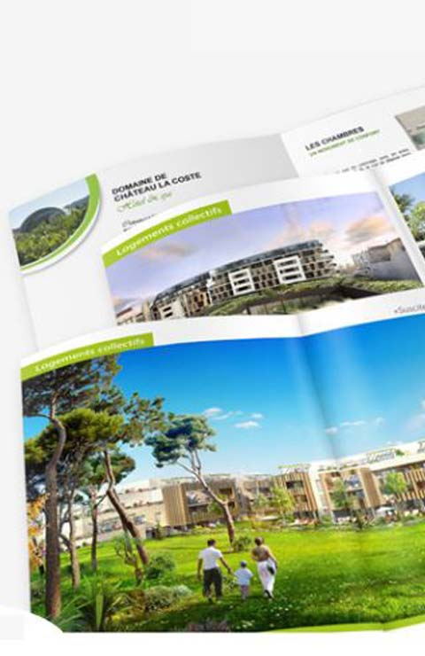 web marketing printing immobilier